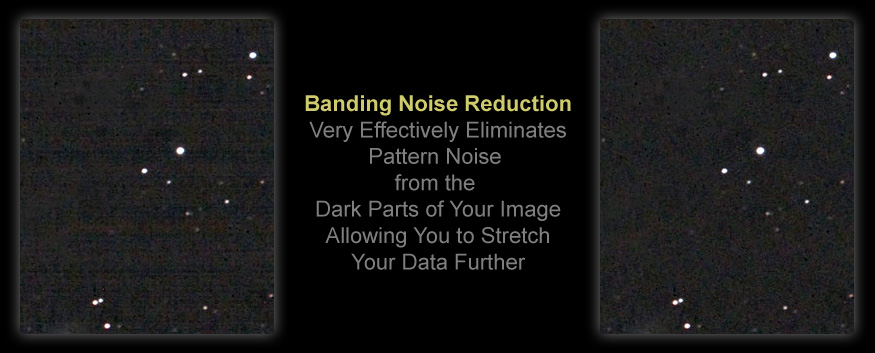 [Particularly Visible Pattern Noise is History with Banding Reduction Actions.]