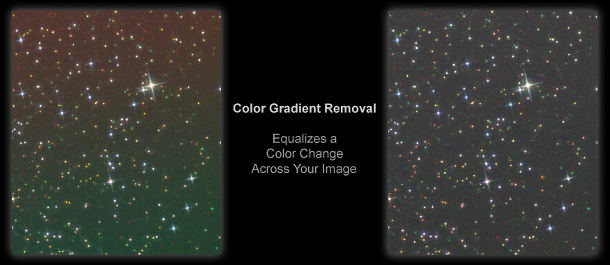 [Color Gradient Removal Neutralizes Color Biases in the Image Without Affecting Luminance]