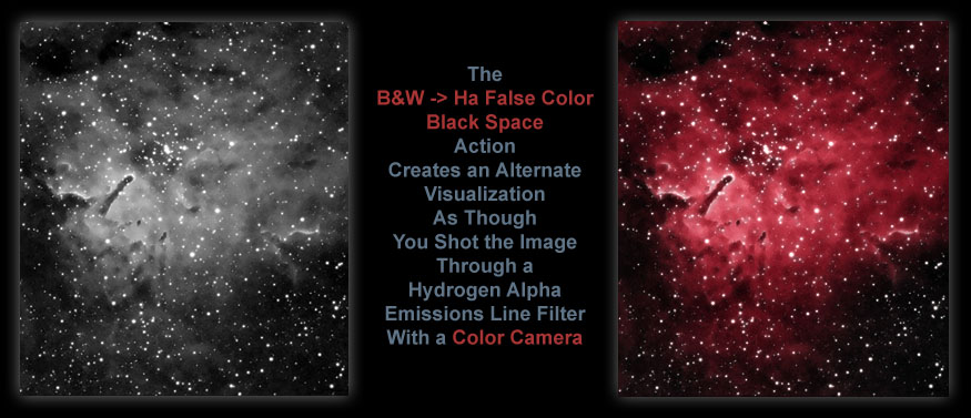 [Add False Color to Your Ha Filtered Images for Enhanced Visualization.]