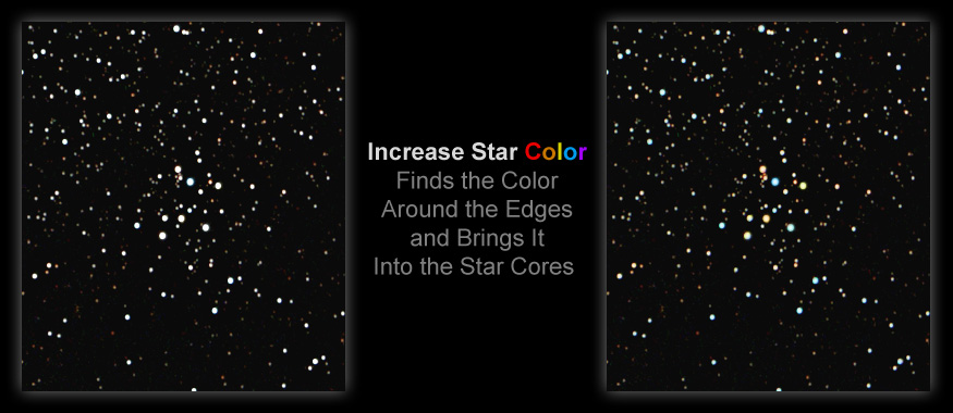 [Get color back into those burned out white stars with Increase Star Color.]