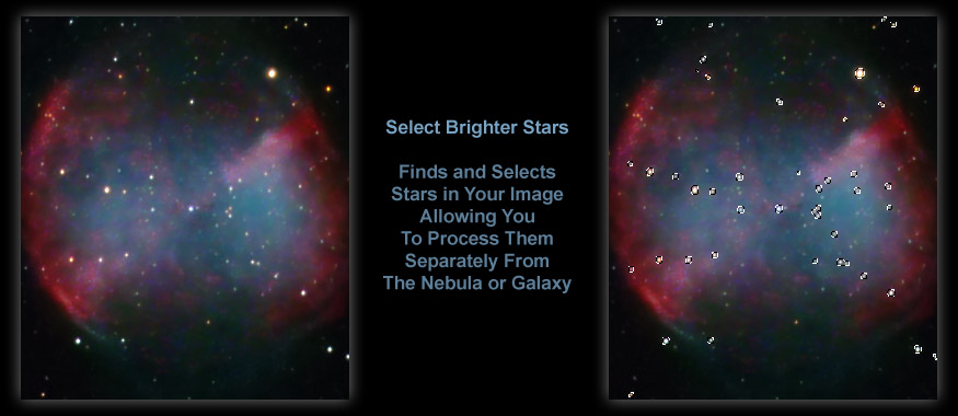 [Selecting the Stars, Even Inside a DSO, Is Easy!]